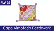 FLV 22 - Almofada Patchwork Love